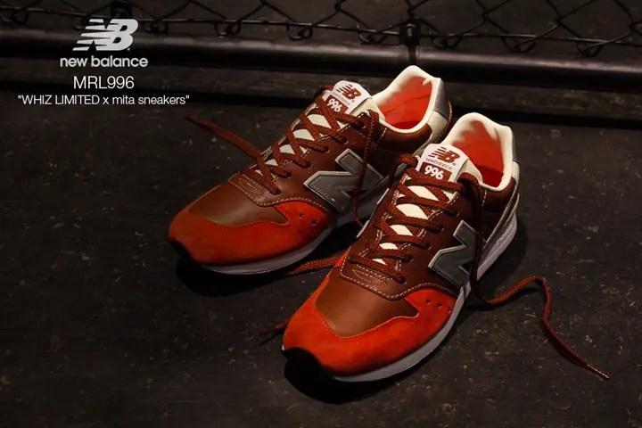 明日12/23から限定店舗で発売!Whiz Limited × mita sneakers × New Balanceトリプルコラボ!「MRL996」 (ウィズ リミテッド ミタ スニーカーズ ニューバランス)