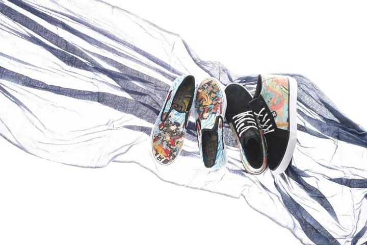 12/23限定店舗で発売!atmos x THREE TIDES TATTOO(TTT) x DCのコラボスニーカー (アトモス スリータイズタトゥー ディーシー)