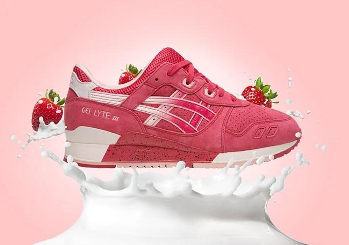 """バレンタインのゲルライト 3!ASICS GEL-LYTE III """"Strawberries & Cream""""が海外2/6から発売!(アシックス バレンタイン)"""