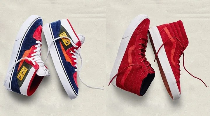 "1/22発売!VANS ""YEAR OF THE MONKEY"" SK8-HI REISSUE/HALF CAB (バンズ イヤー オブ ザ モンキー)"