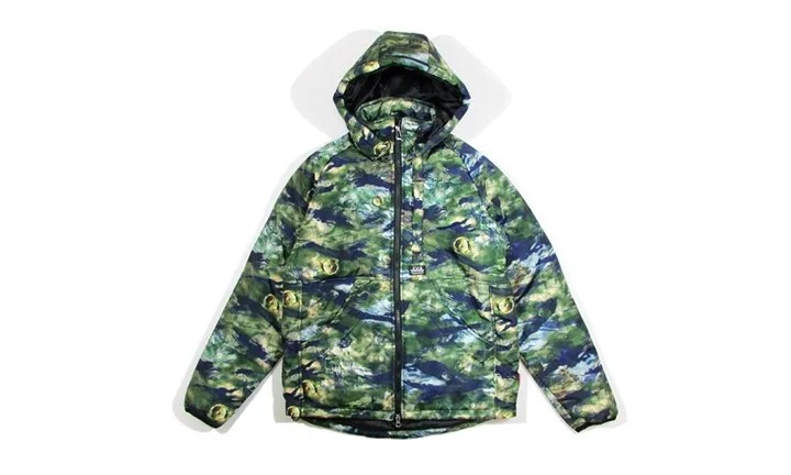 """DUPPIESから「CAMOUFLAGE COTTONPATTED JACKET """"SATELLITE""""」が好評発売中! (ダッピーズ ファイブオー FIVE-O)"""