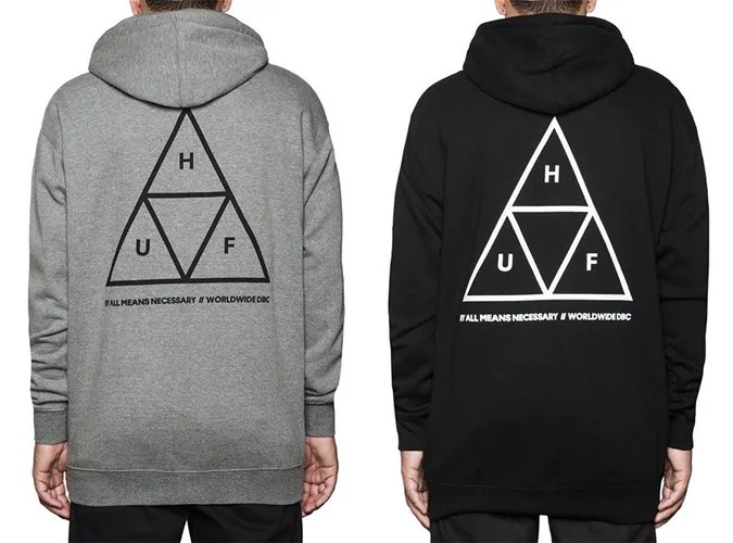 HUF TRIPLE TRIANGLE PULLOVER FLEECEが発売開始! (ハフ)