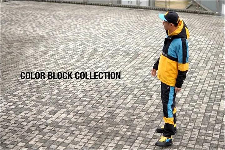 A BATHING APEから2016年最新カラーブロック柄で仕上げた「COLOR BLOCK COLLECTION」が2/27発売!(エイプ)
