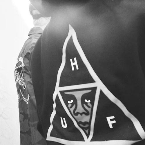 HUF x OBEY コラボが3/18 18時~発売! (ハフ オベイ)