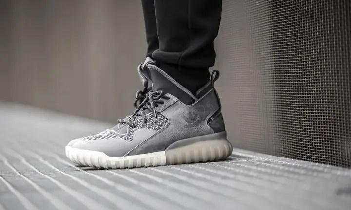 海外展開!アディダス チュブラー X ソリッド グレー (adidas TUBULAR X Farbe Solid Grey) [S74927]
