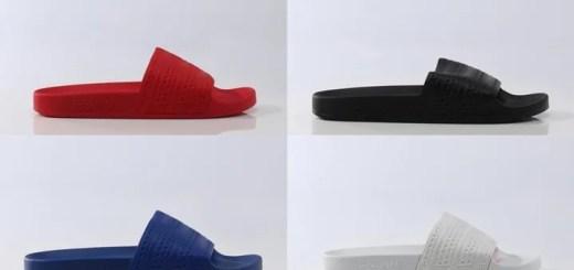 イタリア製/PUコート加工バンドのアディダス オリジナルス アディレッタ 2016 S/S (adidas Originals ADILETTE 2016 SPRING/SUMMER) [BA8623,4,5,6]