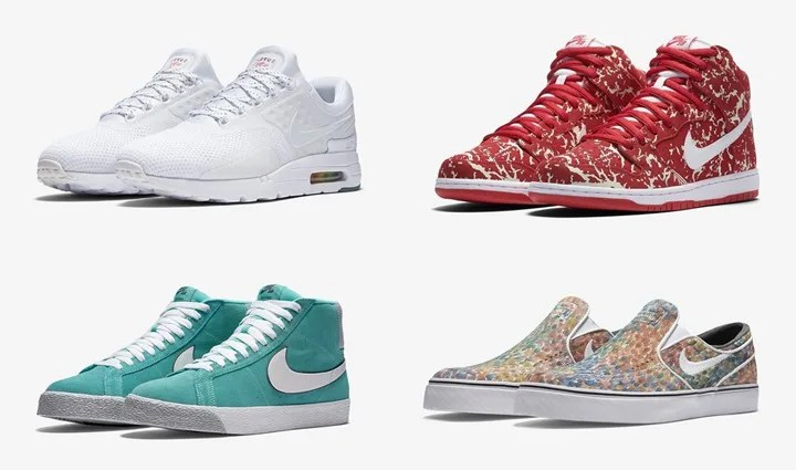 "【まとめ】6/1発売のNIKE 厳選スニーカー!(AIR MAX ZERO ""Be True"")(SB DUNK HIGH PREMIUM ""RAW MEAT"")(SB ZOOM STEFAN JANOSKI SLIP PREMIUM ""Water Color"")(BLAZER SB PREMMIUM QS ""METRO PARIS"")他"