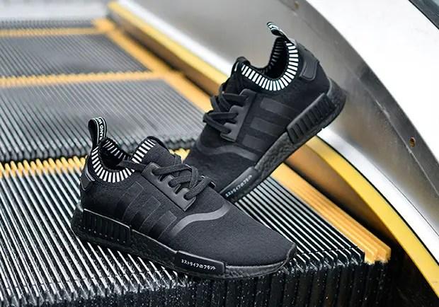 """海外6/10発売予定!adidas Originals NMD_R1 {PK PRIME KNIT} """"Triple Black"""" (アディダス オリジナルス エヌ エム ディー ランナー プライムニット """"トリプルブラック"""") [S81849]"""