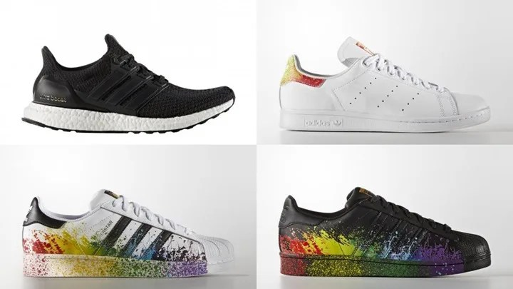 "6/16オンライン発売!adidas ULTRA BOOST ""Black"" 2.0 [BB3909] & Originals ""Pride Pack"" 2016 SUPERSTAR/STAN SMITH [BB1686,7][D70351]"
