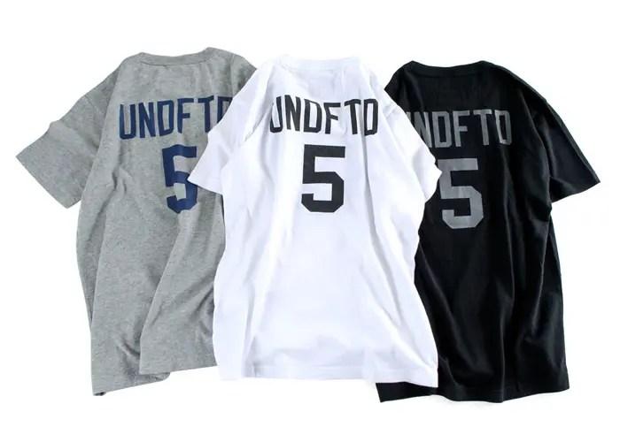 【再販 7月初旬発売】UNDEFEATED × CHAMPION 5Strike S/SL TEE! (アンディフィーテッド チャンピオン)