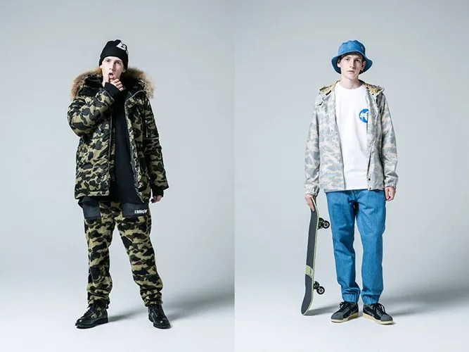 A BATHING APE 2016 FALL/WINTER COLLECTIONがラインナップ! (エイプ)