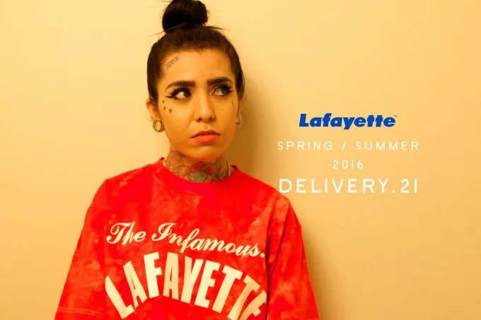 Lafayette 2016 SPRING/SUMMER COLLECTION 21th デリバリー!7/16から発売!(ラファイエット)