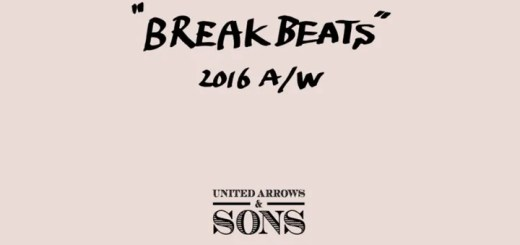 "UNITED ARROWS & SONS 2016 AUTUMN/WINTER ""BREAKBEATS"" (ユナイテッドアローズ アンド サンズ 2016年 秋冬)"