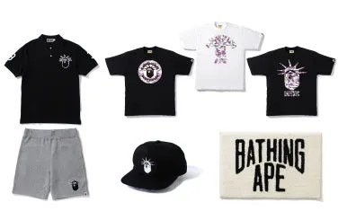 A BATHING APEからニューヨークの雰囲気を醸し出すアイテム「BAPENYC」が7/30発売! (エイプ)
