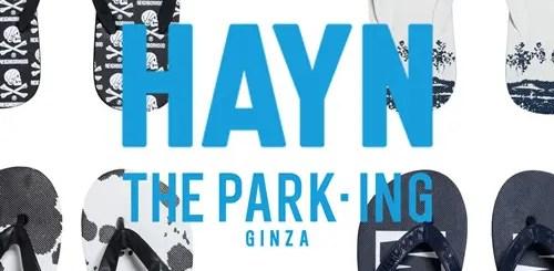 THE PARK・ING GINZAにてネイバーフッドやホワイト マウンテニアリング、アンカバ等とのコラボサンダルが8/3から発売!(ザ・パーキング銀座 NEIGHBORHOOD White Mountaineering UNDER COVER)