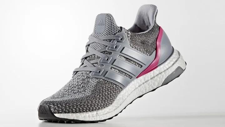 """海外展開!アディダス ウィメンズ ウルトラ ブースト """"グレー/ショッキング ピン"""" (adidas WMNS ULTRA BOOST """"Grey/Shocking Pink"""") [AQ5936]"""