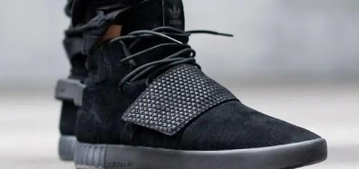"""アディダス オリジナルス チュブラー インベーダー ストラップ """"トリプルブラック"""" (adidas Originals TUBULAR INVADER STRAP """"Triple Black"""")"""