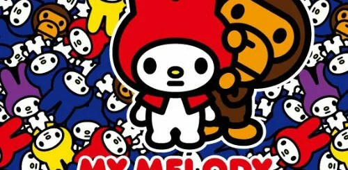 エイプ × マイメロディがコラボ!近日発売! (A BATHING APE MY MELODY)