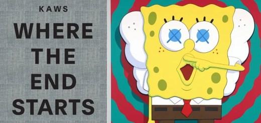 KAWSのトイ、アート、グラフィックを集結させた「Where the End Starts」が11/22発売! (カウズ)
