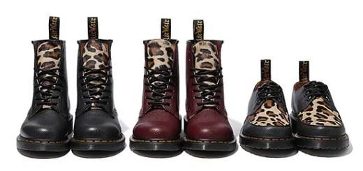STUSSY × Dr. Martens 「1460 8Eye Boot」「Bailey 3Tie Shoe」が発売! (ステューシー ドクターマーチン)