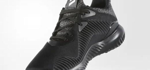 """10月発売!adidas ALPHA BOUNCE """"Core Black/Silver Metallic"""" (アディダス アルファ バウンス """"コアブラック/メタリックシルバー"""") [B42746]"""