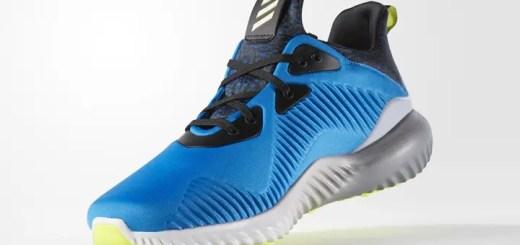 """10月発売!adidas ALPHA BOUNCE """"Shock Blue/Ice Yellow"""" (アディダス アルファ バウンス """"ショックブルー/アイスイエロー"""") [B54187]"""
