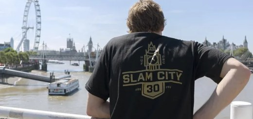 HUF × Slam City Skates コラボが海外9/8発売! (ハフ スラム シティ スケート)