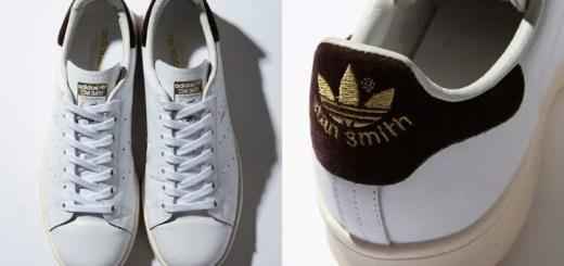 ヒールパッチにベロア風の素材を施したBEAUTY&YOUTH別注 adidas Originals STAN SMITHが10月下旬発売! (ビューティアンドユース アディダス オリジナルス スタンスミス)