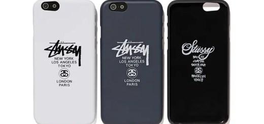 STUSSYからワールドツアーのグラフィックをあしらったパワーサポート社製のiPhone 6/6S専用エアジャケットが発売! (ステューシー)
