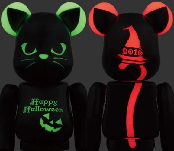 蓄光ボディに黒猫をイメージした2016年 ハロウィン限定 ベアブリックが9/24から発売! (HALLOWEEN BE@RBRICK)