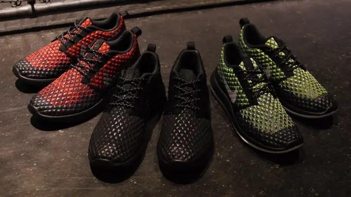 Cheap Nike Sportswear ROSHE TWO FLYKNIT Trainers dark gray / pure