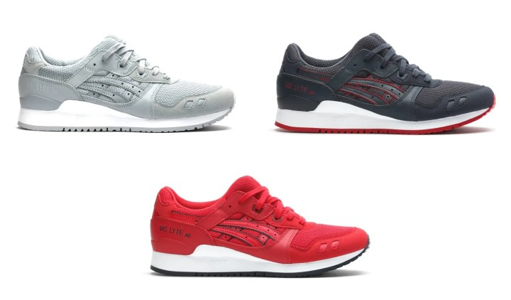 "ASICS TIGER GEL-LYTE III ""CORE PLUS PACK"" 2016 A/W 3カラー (アシックス タイガー ゲルライト 3 ""コア プラス パック"" 2016年 秋冬) [TQN6A3-1313,2525,5050]"