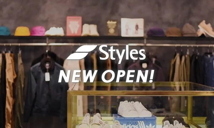 califにてStylesが再オープン!10/12 15:00~NIKEを中心としたアイテムがリストック&セール!