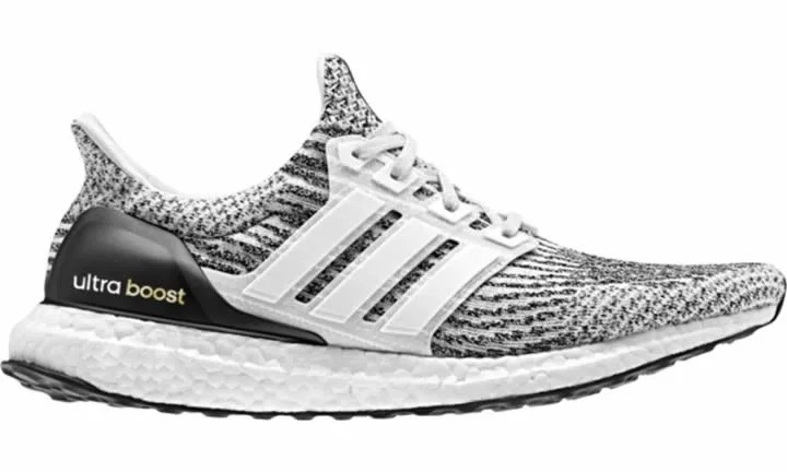 Adidas Ultra Boost 3.0 Oreo Zebra Black White Men 8US (9 Women