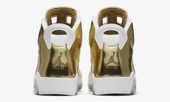 """【オフィシャルイメージ】海外10/22発売!ナイキ エア ジョーダン 6 レトロ ピナクル """"メタリック ゴールド"""" (NIKE AIR JORDAN 6 RETRO PINNACLE """"Metallic Gold"""") [854271-730]"""