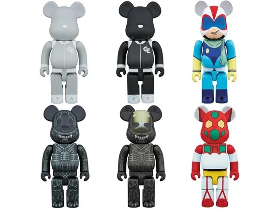 GOODENOUGH、エイリアン等、受注生産限定ベアブリック2016年10月度! (BE@RBRICK)