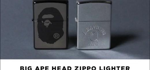 A BATHING APE × オイルライター ZIPPOとのコラボレーション 2型が10/29から発売! (ア ベイシング エイプ ジッポ)