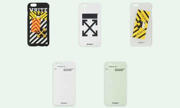 OFF-WHITE C/O VIRGIL ABLOH iPhone 7 CASEが予約受付中! (オフホワイト)