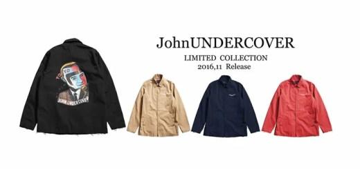 JohnUNDERCOVER × STUDIOUS コラボが11月発売! (ジョン アンダーカバー ステュディオス)