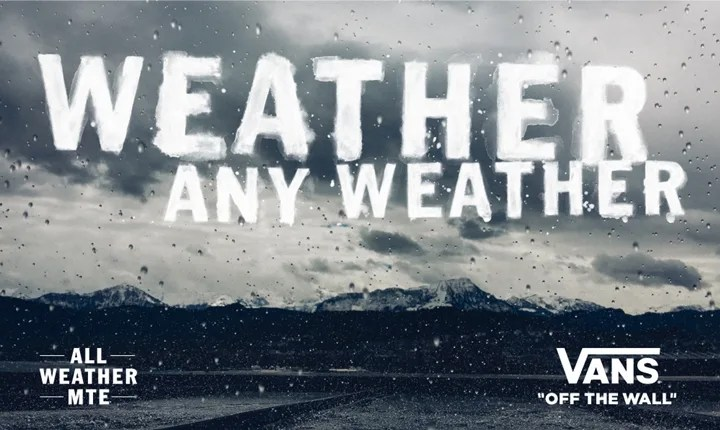 VANSからアウトドアからストリートまで、様々な気象条件にも対応する「All Weather MTE Collection」がリリース! (バンズ)