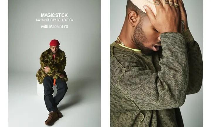MAGIC STICK AW16 HOLIDAY COLLECTION with MadeinTYO (マジック スティック 2016 ホリデー コレクション)