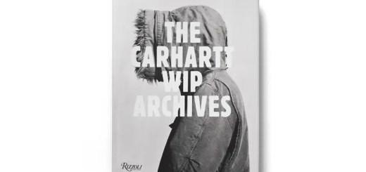 Carhartt初のアーカイブ本「The Carhartt WIP Archives BOOK」が発売! (カーハート)