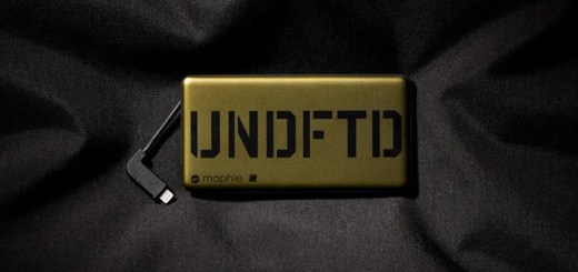 UNDEFEATED × MOPHIE POWERSTATION PLUS MINIが12/3発売! (アンディフィーテッド モーフィー パワーステーション プラス ミニ)