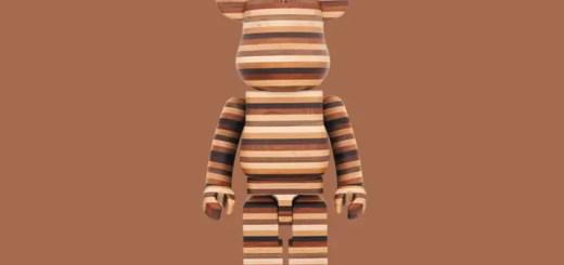 60万円オーバーの木製で70cmのカリモク製 寄木造WOOD製 BE@RBIRCKが受注生産で2017年3月下旬発売! (ベアブリック)
