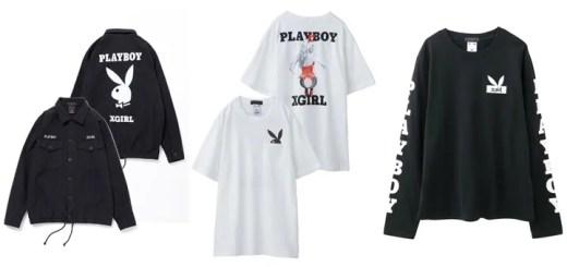 X-girl × PLAY BOY コラボアイテムが12/20から予約開始! (エックスガール プレイボーイ)