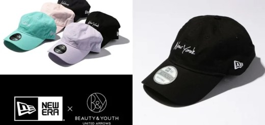 """BEAUTY&YOUTH × New Era 9TWENTY """"New York/Yankees""""が2月中旬発売! (ビューティ アンド ユース ニーエラ)"""