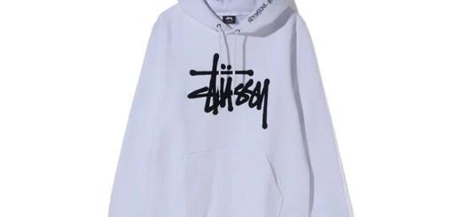 STUSSYからフードの縁にロゴをあしらったシェニールパッチのストックロゴ付きプルオーバーフーディ「Chenille Stock Hood」が発売! (ステューシー)