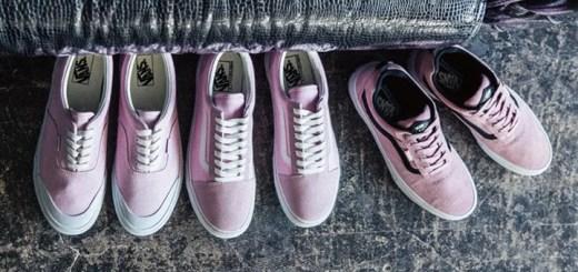 ピンクを基調としたカラーリングを施したVANS KYLE WALKER PRO/OLD SKOOL DX/ERA (バンズ カイル ウォーカー プロ/オールドスクール デラックス/エラ)