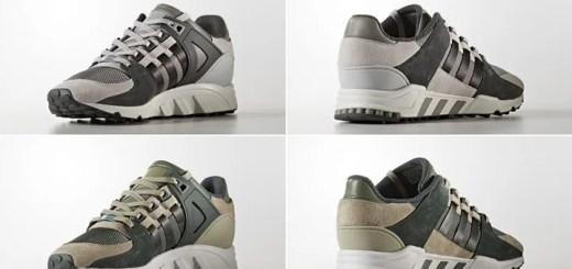 """アディダス オリジナルス エキップメント サポート RF """"ソリッド グレー/トレース グリーン"""" (adidas Originals EQT SUPPORT RF """"Solid Grey/Trace Green"""") [BB1317,8]"""