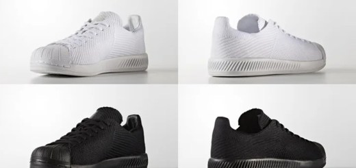 "adidas Originals SUPRESTAR PRIMEKNIT ""Triple White/Black"" (アディダス オリジナルス スーパースター プライムニット ""トリプル ホワイト/ブラック"") [S82240,1]"